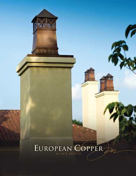 copper chimney pots european copper