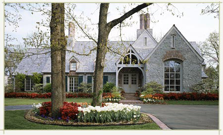 Farmhouse Plans: French Country House Plans